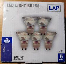 Żarówka GU10 LED 5W neutralna biała 4100K 320lm LAP
