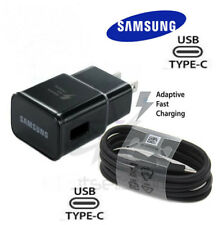 Original Samsung Galaxy S8 S8+ S9 Note 8 9 Fast OEM Wall Charger+Type C -CABLE