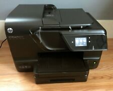 HP OfficeJet Pro 8600 All In One InkJet Printer + USB & Power Cable - Tested