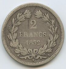 Louis-Philippe (1830-1848) 2 Francs 1832 A Paris