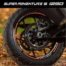 LISERETS JANTES MOTO SUPER ADVENTURE S 1290 STICKERS kit pour 2 jantes 40 colors