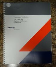 Tektronix TDS 520 & 540 Performance Verification