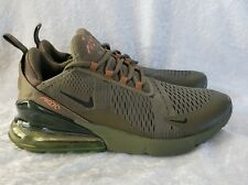 "Men's Nike's Air Max 270 ""Triple Olive""SIZE 11"