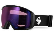 Sweet Protection Clockwork Max Snow Goggle Matte Black Rig Amethyst Lens NEW!