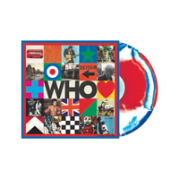 Who Limited Edition Exclusive Red & Blue Marble Colored Vinyl LP