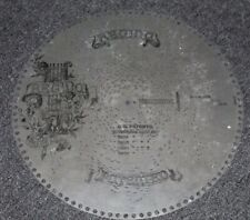 "Antique Regina Music Box Player Disc 15 1/2"" ~ Air From Norma #1204"