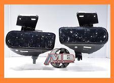 1999 2002 GMC Sierra Driving Fog Lights Bumper Lamp 881 Bulbs SMOKED Replacement