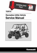 Kawasaki 2016 Teryx LE Service Manual