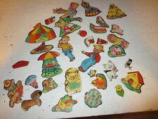 Very Rare Vintage Circus Animal Flannel Board Figures