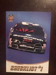 1997 SB Motorsports #50 - Checklist #1