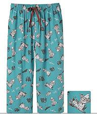 Women's Export Rayon Print Cropped Pants KU65922