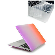 "Rubberized Matte Hard Case+Keyboard Cover For MacBook Air 11"" Pro 13"" Retina 15"""