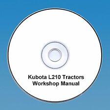 KUBOTA Trattore L210 Manuale Officina