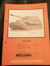 Bellona Military Vehicle Prints Series One - Panzer Jager Elephant Kampfwagen +