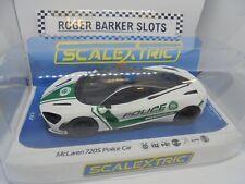 "Scalextric  C4056 Mclaren 720s  ""Police Car"" Siren & lights / DPR   BNIB"