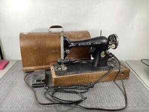 Vintage Singer 66-6 Sewing Machine