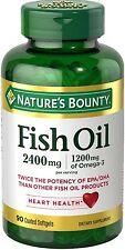 Nature's Bounty Fish 2400 mg OilSoftgels 90 ea