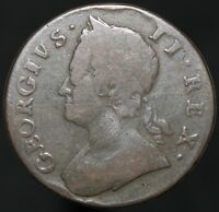 1746 | George II Half-Penny | Copper | Coins | KM Coins