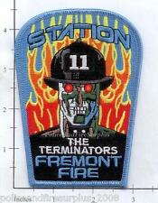 California - Fremont Station 11 CA Fire Dept Patch - The Terminators