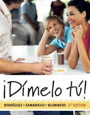 World Languages: ¡Dimelo Tu! : A Complete Course by Francisco Rodriguez Nogales,
