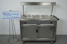 More details for lincat bain marie carvery hot cupboard unit + gantry+ sneeze guard 240v free p+p