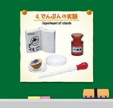 Re-Ment Miniature Science Room set # 4 Experiment of starch