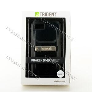 Trident Kraken AMS iPhone 7 & iPhone 8 & iPhone SE 2020 Case w/Belt Clip - Black