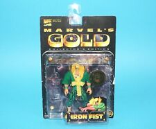 MARVEL COMICS MARVEL'S GOLD IRON FIST MOC 1997 TOY BIZ