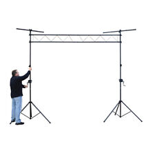 More details for fx lab njs064d steel lighting bridge with winch stands 3m span