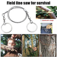 Multifunctional Portable Chain Saw Stainless Steel Wire for Camping EDC