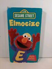 Sesame Street - Elmocize (VHS, 1996) No Activity Book
