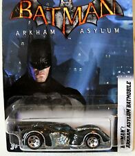 2012 Hot Wheels #6/8  BATMAN ARKHAM ASYLUM BATMOBILE WALMART EXCLUSIVE
