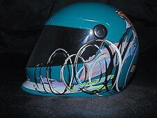 NASCAR Blue Mini Helmet