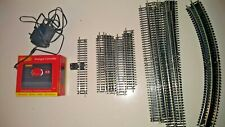Collection of Hornby OO Gauge Track, Controller and Power Supply