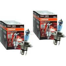 2x OSRAM NIGHT BREAKER UNLIMITED +110% mehr Licht more Light H4 Halogen Lampe