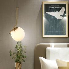Glass Pendant Light Kitchen Ceiling Lamp Bar Lights Bedroom Chandelier Lighting