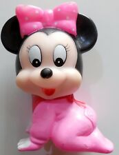 BABY MINNIE PUPAZZO ABAT JOUR VINTAGE GOMMA TOY