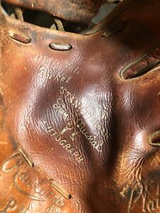 VTG 1950's Stan The Man Musial Autograph Edition Rawlings PMM Playmaker Glove