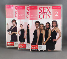 SEX AND THE CITY SEASON 2 SINGLE EDITION (3 DVD DISC SET 2002) E1 to18 LIKE NEW