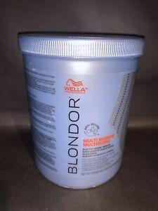 Wella Blondor Multi Blonde Powder Lightener 28.2 Oz Highest Quality Ingredients