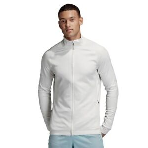 Adidas Men's White PHX Reflective Gym Fitness Premium Jacket DQ2662