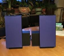 Bang & Olufsen B&O 1991 6203 Pair powered Speakers 2500 beolab Blue.