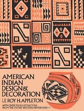 Dover Pictorial Archive: American Indian Design and Decoration by Le Roy H....