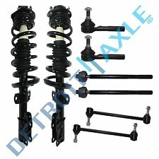 8pc Front Strut 11.8' Sway Bar Set Tierod Ends For ChevyPontiac HHR COBALT