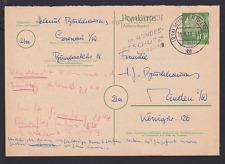 Briefmarken-Ganzsachen aus der BRD mit Bedarfsbrief