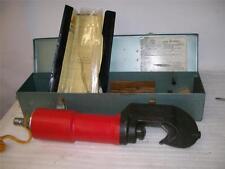 Jet Line Thomas Industries. HP 300 AC Crimping Tool. w/Case. Novapress.