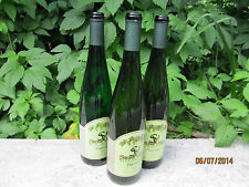 Lot of 12 Empty WINE BOTTLES- Riesling Style-w/ Labels-