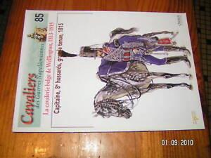 Osprey Cavalier Guerre Napoléon N°85 Belge  Wellington