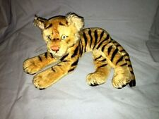 Vintage Steiff Tiger ~ Laying down ~ Excellent with Button