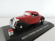 Voiture miniature Citroën Traction Avant 7 Coupé 1935 Nostalgie 1/43
